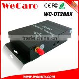 Wecaro WC-DT288X HD mobile car digital tv tuner receiver car isdb-t box for brazil