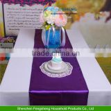 Table Runners Satin Decoration For Party Wedding Banquet Decor TOP QUALITY