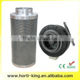 Grow tent Ventilation activated carbon filter fan filter combo