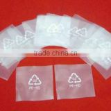 clear pvc plastic bag with snap button,cake plastic bag,anti-dumping duty plastic bag