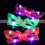 Wholesale! Butterfly LED Glasses Glowing Glasses for Birthday Party Favor Halloween Props