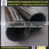 Low-Drag Carbon Fiber Idler Roller with high safety made by China experienced manufacturer