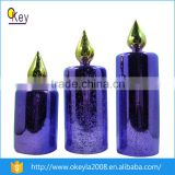 2016 Flameless Long Time Burning Electric Flickering led Candle Light