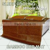 Oriental luxurious cooling bamboo quilted mattress protector