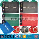 New products 2016 welcome pvc design door mats floor mat