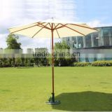 patio garden wooden umbrella