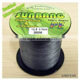 Dongyang Manufacturer Black Fishing Tackle PE Fishing Braided Line