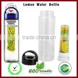 Lemon Water Bottle Outdoor Sports bottle Fruit Infuser Water Bottle