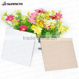 Sublimation blank ceramic tiles / customized ceramic tiles