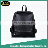 Wholesale fashion custom men high school leather laptop bag backpack,slim laptop backpack