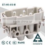 HK series 400V 16 A electornic pin female connector types and waterproof bnc male connector