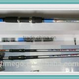 China Manufacturers Carbon Material Tele Surf Fishing Rod