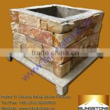 natural decorative concrete cement stone building blocks