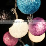 Cotton Ball String Lights Wedding,Party,Bedroom,Patio And Party Decoration
