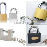 High Quality Grey Iron Padlock, Gold Plated Iron Padlock, Brass Padlock, Stainless Steel Padlock, Cyliner Lock, Solid