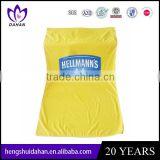customed logo printed plain dyed beach towel promotion yellow polyerter fabric bath towel China supplier whioesaler