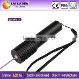 Cheap 100mw 405nm Violet Laser Pointer Lazer Pointers Laserpoint with Rechargeable Battery and Charger