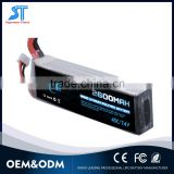 Obbey 2 cell 7.4v 2600mah 45c rc helicoper battery 45c lipo charger for rc helicopter