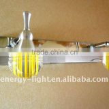Modern stainless steel crystal mirror lamp ,led wall mount vanity light