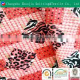 Comfortable handfeel 100% polyester printed bed sheet fabric super soft textile fabric for bed covers