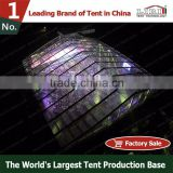 100'x100' outdoor structure for event and party wedding tent with interior decorations