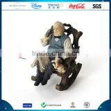Polyresin Europe And America Resin Home Cozy Family Human Statue Decoration