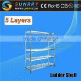 Warehouse Shelf/Toy Storage Shelf/Stainless Steel Work Table With Top Shelf (SY-RK515L SUNRRY)