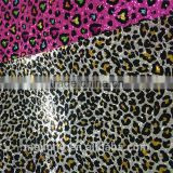 PU Glitter Leather for Bar Wall Cover or shoes upper