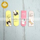 Promotional latest student stationery items Good idea Customized deft design mini bookmarks for schools Reward Gifts