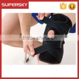 V-655 Adjustable open knee sports knee support copper compression knee sleeve and patellar neoprene knee brace