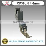 Industrial Sewing Machine Parts Sewing Accessories Teflon Feet (Zipper) Single Needle CF36LN 4.6mm Presser Feet