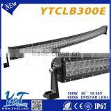 50inch off road led light bar 300W car led light bar mount waterproof led grow light bar