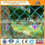 chain link fence used for garden fencing and animal fencing galvanized or pvc coated chain link mesh
