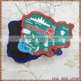Country Map Gift Fridge Magnet Custom Rubber Fridge Magnet                                                                         Quality Choice