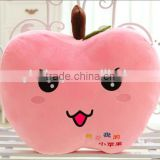 lovely cute plush baby toy apple cushion/pillow,Plush Soft Stuffed Apple Pillow,Plush Apple Pillow