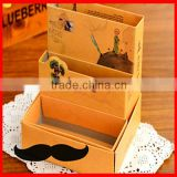 Little Prince Multi Layers Desk Helpful DIY Paper Tidy-Up Case BOX Can BIN ; Sundries Storage Case ; Cosmetics & Pen BOX