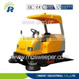 Spare parts free change within warranty available motorized road sweeper combination of vacuum sweeping and water spraying