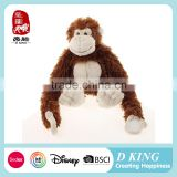 Long Arm Plush Animals Magnet Hanging Monkey Toy Manufacturer