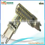 Boy brand Hot 72pcs smd3014 270lm silicon 3w dimmable led g9 bulb replacement 40w halogen