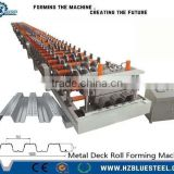 Automatic Galvanized Floor Decking Roll Forming Machine for Sale, Steel Floor Decking Sheet Making Machine