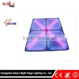 Most Attactively LED Shape of X Dance Floor Tile for Concert Stage Dancing