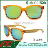 2016 New design eyeglasses Bamboo frames , wood polarized sunglasses , Bamboo sunglasses