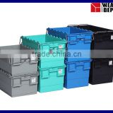 Large Plastic Container with Steel Bars