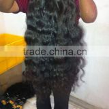 Remy Virgin Human Hair Extensions Straight-Wavy-Curly-Kinky Curly Wholesale Exporter Supplier