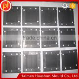 Impregnated Graphite Bipolar Plate for PEM Fuel Cell 400*360*3mm Graphite Bipolar Electrode Plate