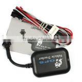 TX-5 Vehicle Tracker Motorcycles anti-theft system LBS+SMS/GPRS GSM Removing Vibration alarm