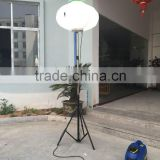 400W Portable Balloon light tower with 1000W inverter generator