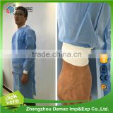 Nonwoven PP SMS Medical sterile disposable surgical Gown surgical gown sterile polypropylene