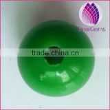 12mm green solid color acrylic beads loose