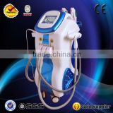 5S E-light+IPL+Q Switched Nd Armpit / Back Hair Removal Yag Laser+Cavitation+RF Ipl Beauty Machine Pigmented Spot Removal